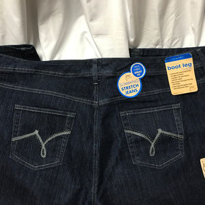 💙JMS Just My Size Boot Leg Stretch Jeans 26W💙
